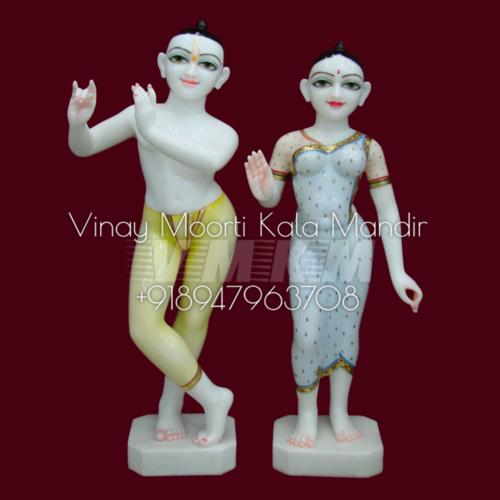 Iskcon Radha Krishna Marble Moorti