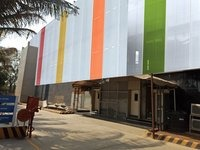 Fabric Facade For Building Wrap