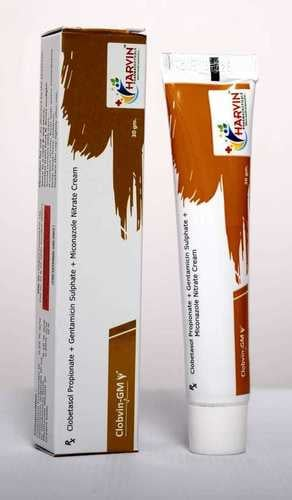 Clobetasole + Gentamycin + Miconazole Cream