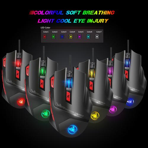 S800 Computer Mouse Mechanical Macros Define