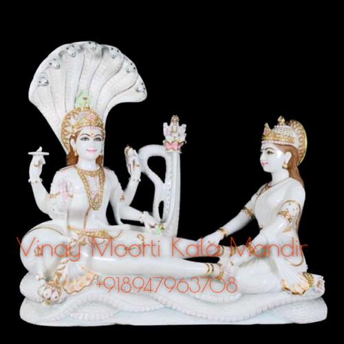 Shesh Shaiya Marble Statue