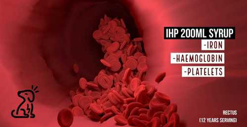 Haemoglobin and Iron with  Platelets Syrup for Dogs & Cats