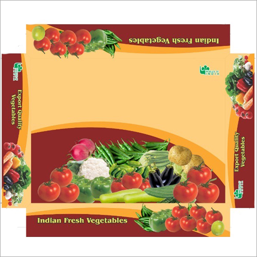 Fresh Vegetable Packaging Box