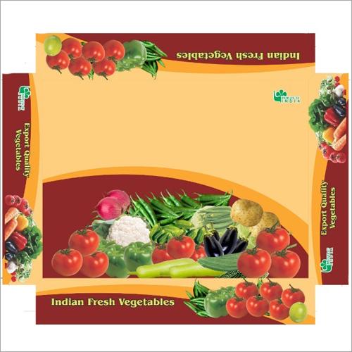 Fresh Vegetable Packaging Box