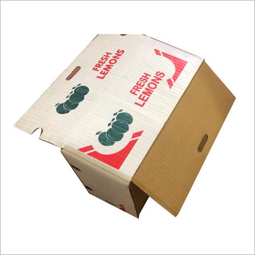 Corrugated Lemon Packaging Box