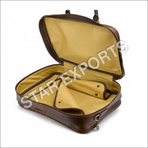 Leather Travel Garment Bag