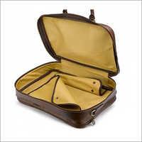 Leather Travel Garment Bag