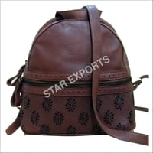 Ladies Leather College Bag