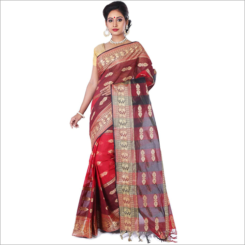 Shantipur Printed Saree