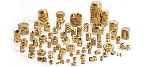 Brass thread insert