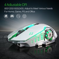 M70 Wireless Gaming Mouse, Ergonomic Surface To Reduce Hand Fatigue