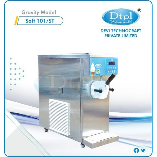 Single Flavour Ice Cream Making Machine