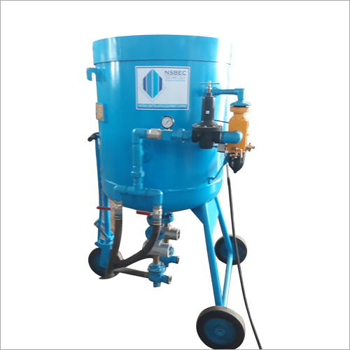 Portable Blasting Machine for Shot Peening