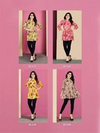 Topsy Flora designer long tops
