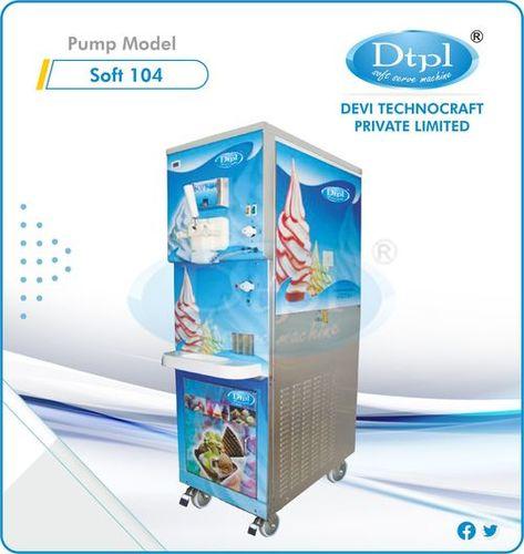 SOFT 104 Ripple Softy Ice Cream Machine