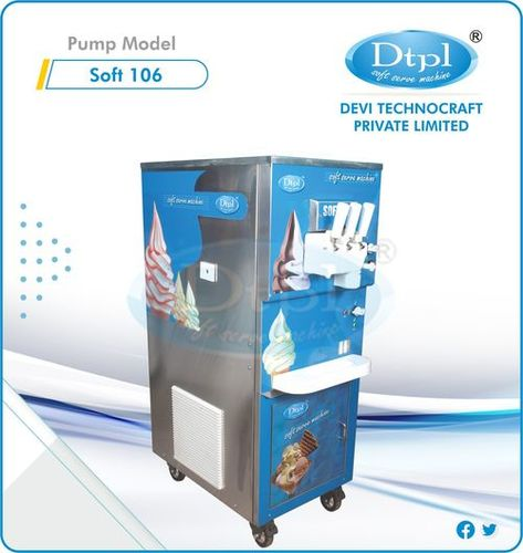 SOFT 106 Ripple Softy Ice Cream Machine
