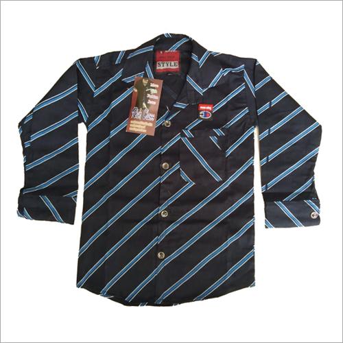 Kid's Strip Shirts