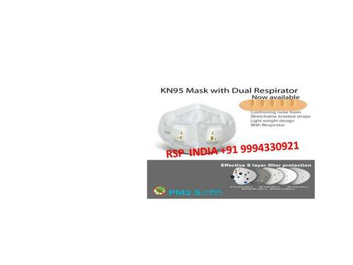 KN95 MASK WITH DUAL RESPIRATOR