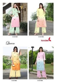 Queen Whosale Designer Kurti