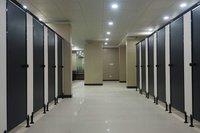 T-Line toilet cubicle system