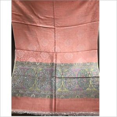 Silky Modal All Over Jacquard Kani Border Shawls