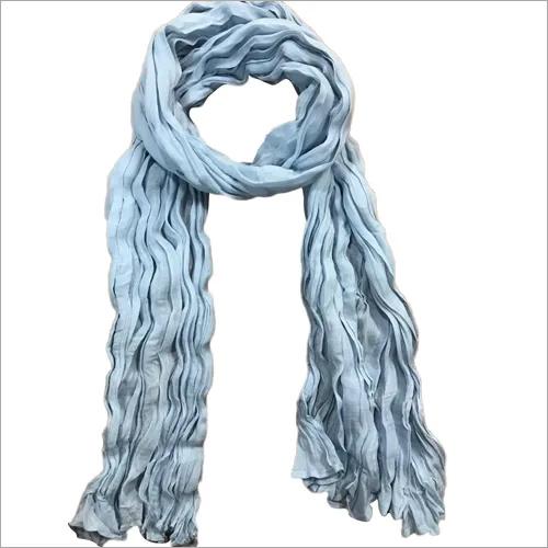 Plain Dyed Soft Cotton Voile All Season Scarf crinkle or plain