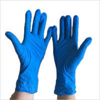 Blue Nitrile Examination Gloves