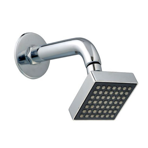 Compact 7 inches arm abs shower