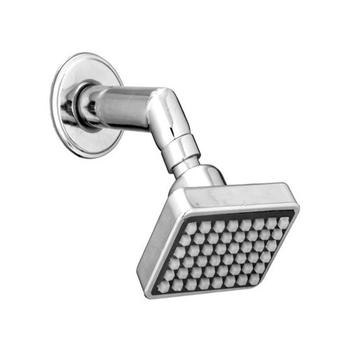 Square shower with arm