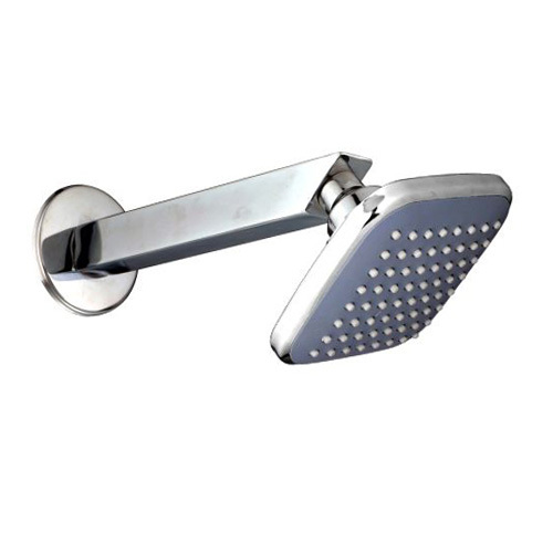 4''x 4'' Swiss - 9 inches Square Arm SS Shower