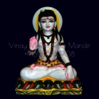 Baba Balak Nath White Marble Murti