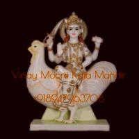Bahuchara Mata Marble Statue