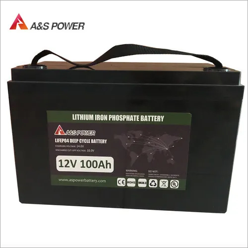 LiFePO4 Battery Lithium iron Phosphate Lithium ion Battery 12V 100Ah for RV/Golf Cart/Yacht/Marine/Backup/Solar