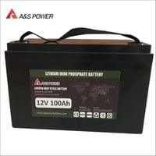 LiFePO4 Battery Lithium iron Phosphate Lithium ion Battery 12V 100Ah for RV/Golf Cart/Yacht/Marine/Backup/Solar