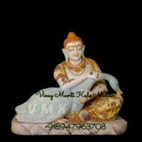 Marble Buddha Sculpture