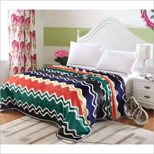 Flannel Printed Bed Sheet
