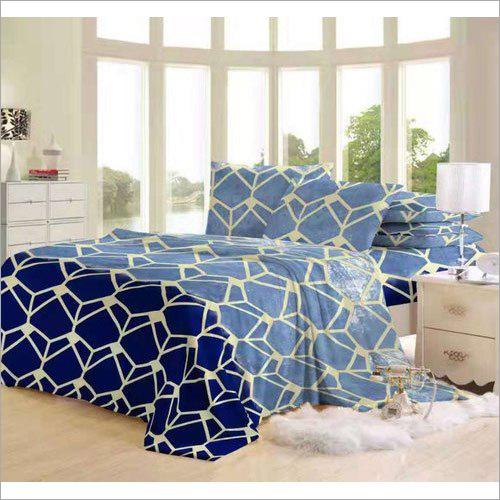 Flannel Fancy Printed Bed Sheet