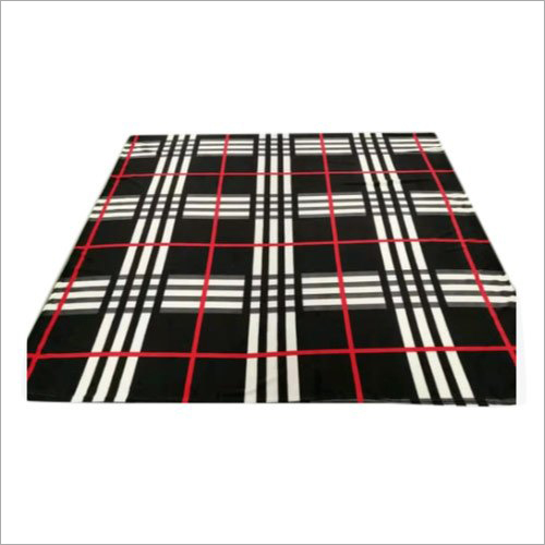 Check Flannel Bed Sheet