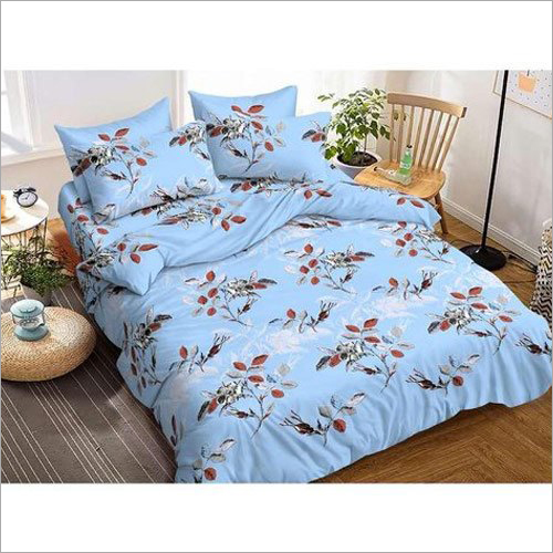 Glace Cotton Designer Bed Sheets