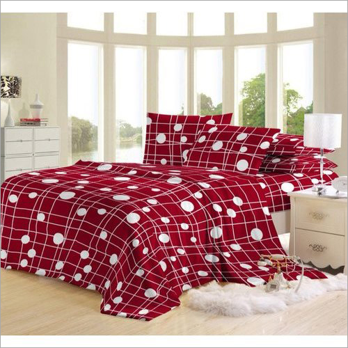 Polyster Designer Printed Bed Sheet