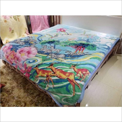 Polyester Printed Cloudy  Blanket