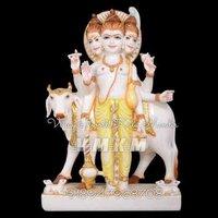 Dattatreya Bhagwan Marble Statue