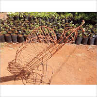 Metal Butterfly Topiary