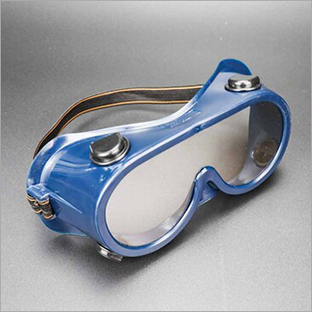 Blue And Dark Color Safety Goggles