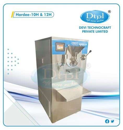 Gelato And Natural Ice Cream Machine - Hardee - 10 H
