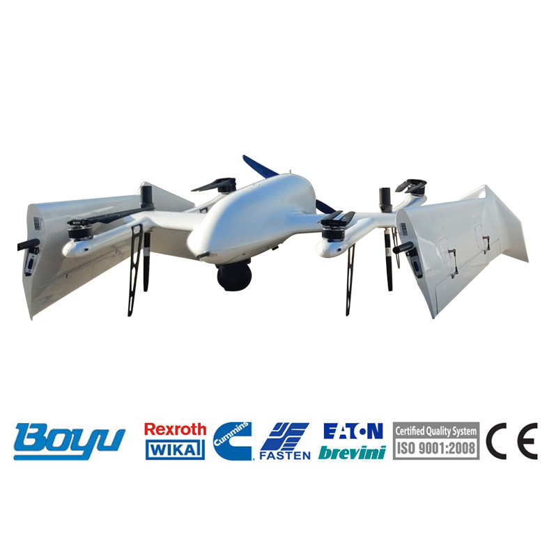 Fixed-wing VTOL Drone For Transmission Line Inspection
