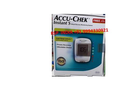 Accu Chek Instant S Blood Glucose Monitoring System