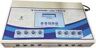 LCD 8 channel tens