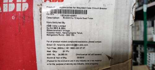 ABB  RESIDUAL CURRENT RELEASE  1SDA051406R1
