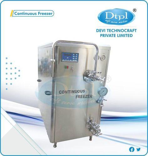 200 L Continuous Ice Cream Freezer